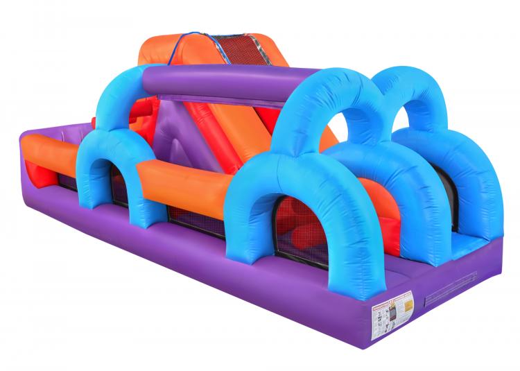 U Slide N Splash Obstacle Wet