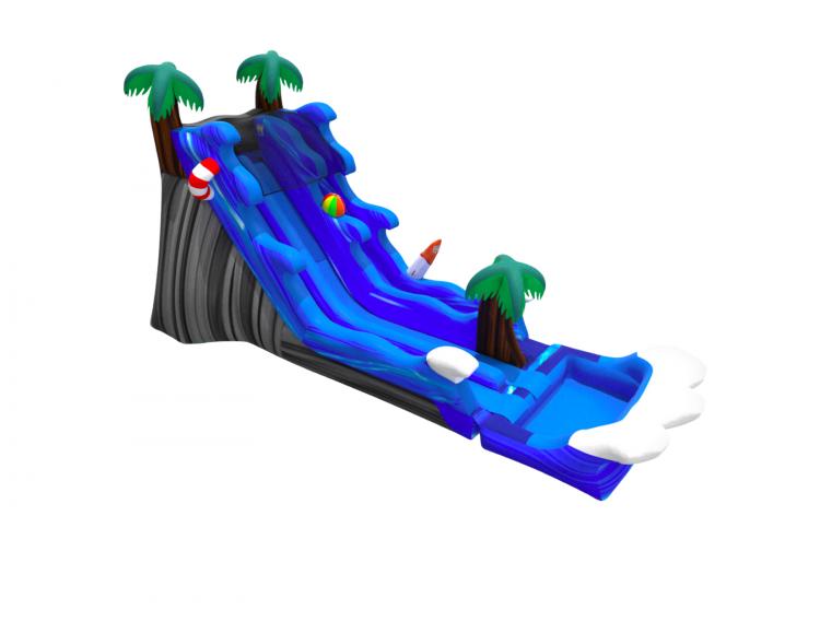20 Malibu Splash Dual Slide Wet